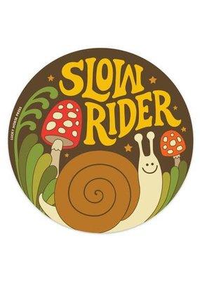 Lucky Horse Press Sticker Slow Rider