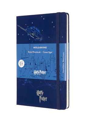 Moleskine Moleskine Limited Edition Harry Potter Flying Car Lined