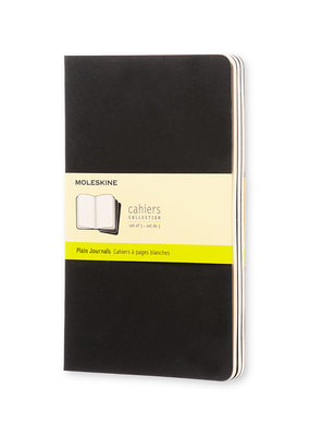 Moleskine Moleskine Cahier Set of 3 Plain