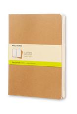 Moleskine Moleskine Cahier Set of 3 Plain