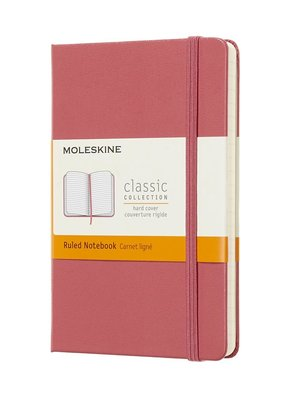 Moleskine Moleskine Classic Hard Cover Ruled Pocket Daisy Pink