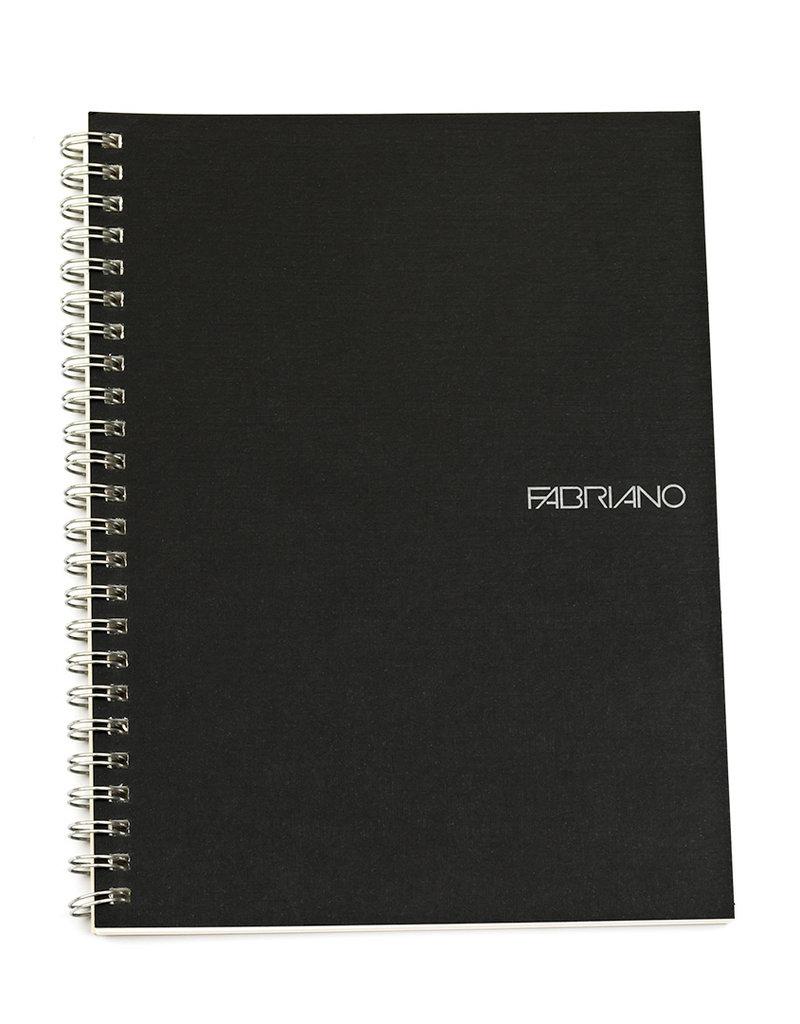 Fabriano EcoQua Notebook A5 Spiral Bound Blank