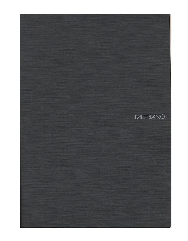 Fabriano EcoQua Notebook A5 Staple Bound Blank