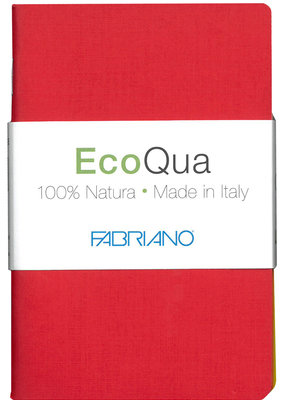 Fabriano EcoQua Blank Book 4 Piece Set Warm Colors