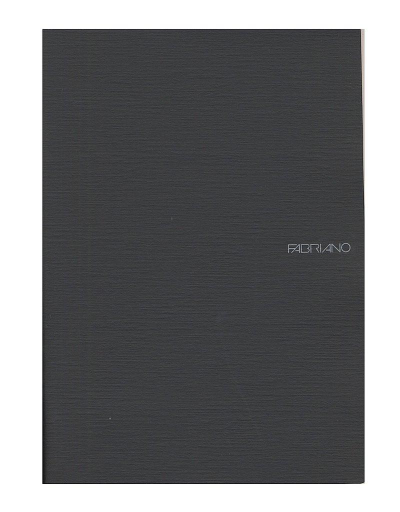 Fabriano EcoQua Notebooks A4 Staple Bound Blank