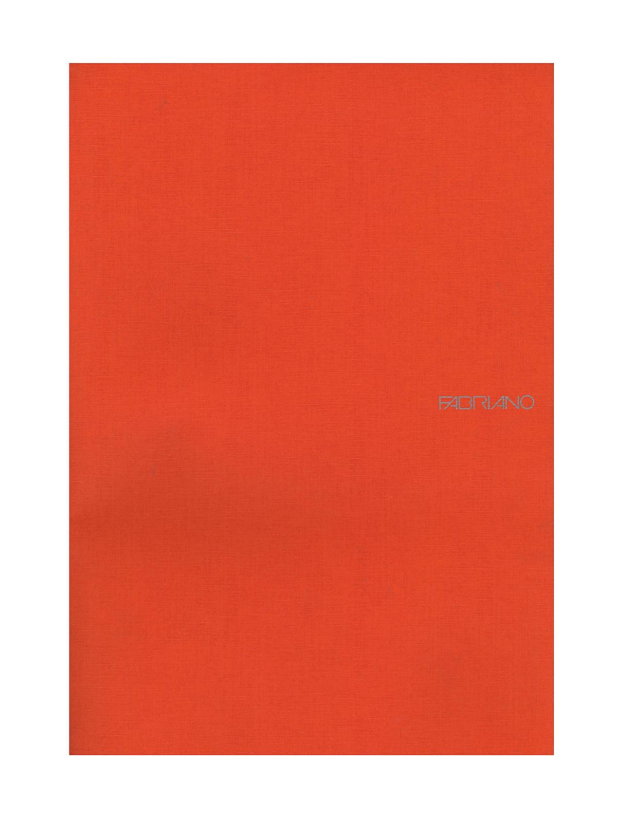 Fabriano EcoQua Notebooks staplebound blank black 8.25 x 11.7 in.