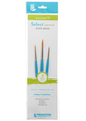 Princeton Art & Brush Co Select Artiste Brush Set #1