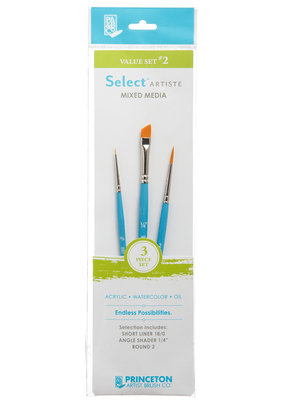 Princeton Art & Brush Co Select Artiste Brush Set #2