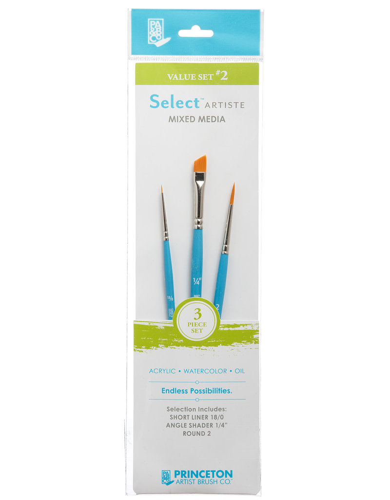 Princeton Art & Brush Co Select Artiste Brush Set #2