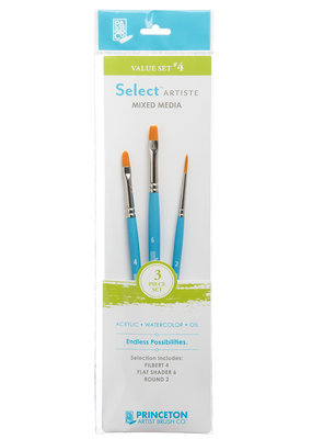 Princeton Art & Brush Co Select Artiste Brush Set #4