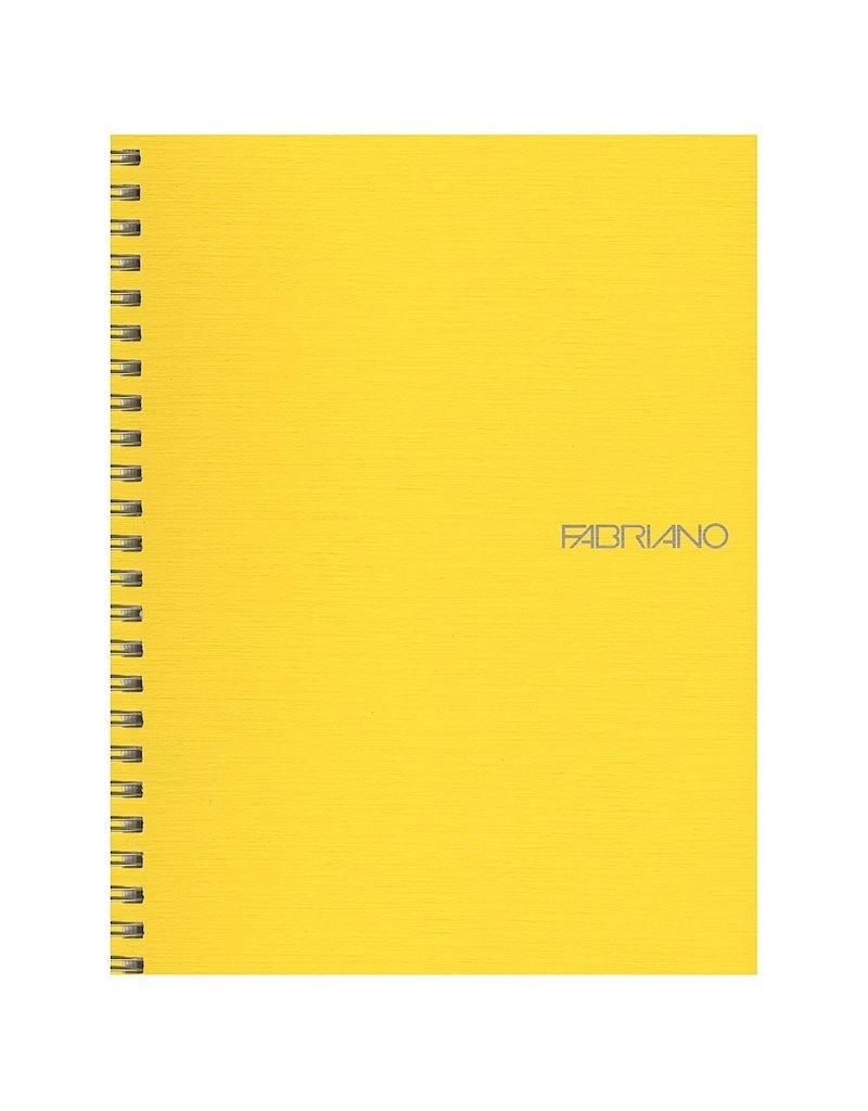 Fabriano EcoQua Notebook A5 Spiral Bound Grid