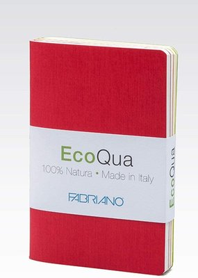 Fabriano EcoQua Dotted Book 4 Piece Set Warm Colors