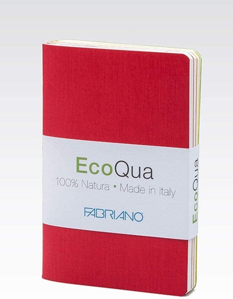 Fabriano EcoQua Dotted Book 4 Piece Set Warm Colors