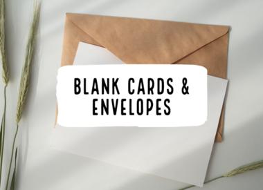 Blank Card & Envelope Singles