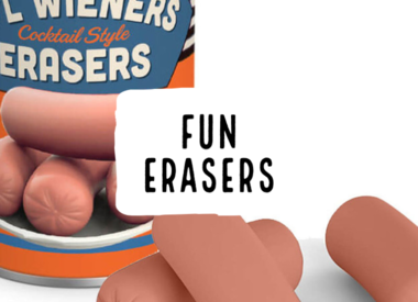 Fun Erasers