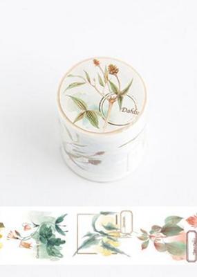 collage Washi Dahlia