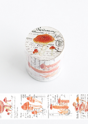 collage Washi Mushroom