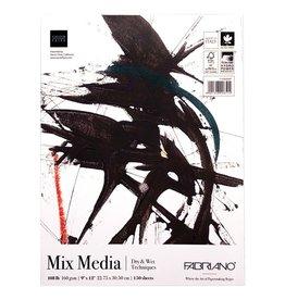 Fabriano Fabriano Mega Mixed Media Pad 9 x12