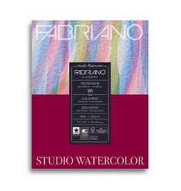 Fabriano Fabriano Studio Watercolor Pad 11 X 14 90# Cold Press 20 Sheets