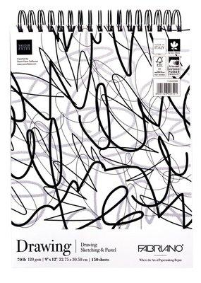 Fabriano Fabriano Mega Drawing  Pad 9 x12
