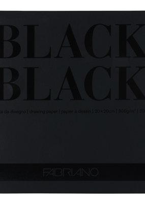 Fabriano Fabriano Black Black Drawing Paper 8 x 8