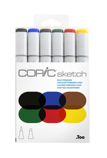 Copic Copic Sketch Marker Set 6 Bold Primaries