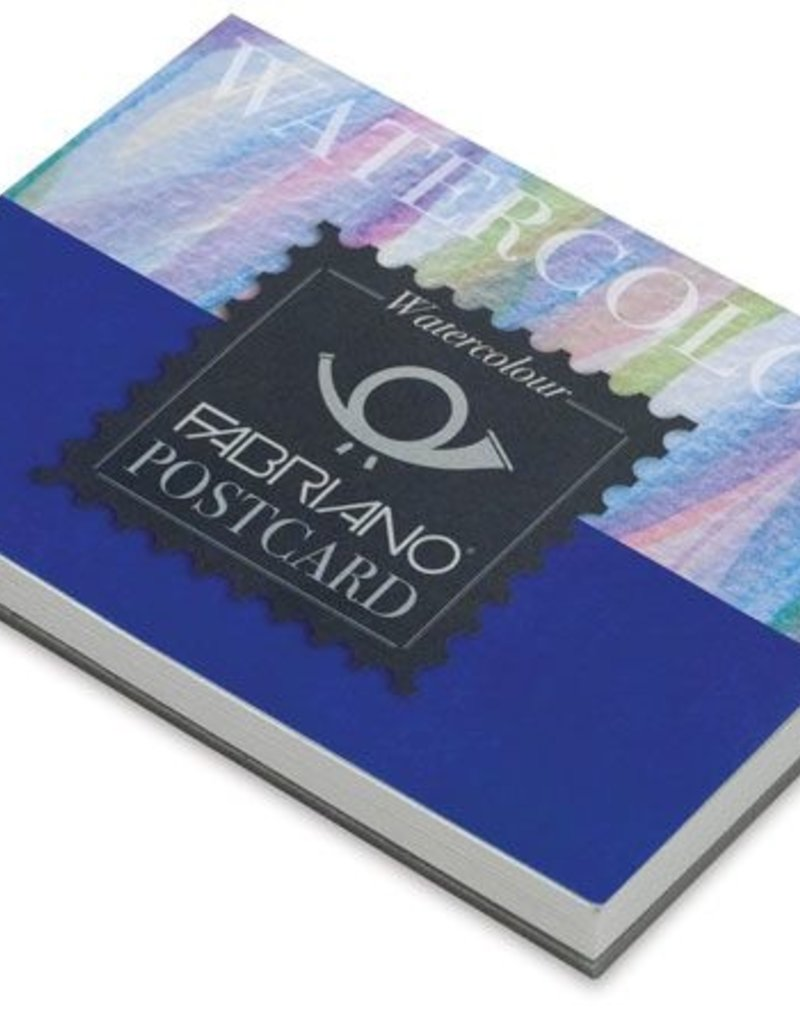 Fabriano Fabriano Watercolor Postcard Pad 4 X 6 20 sheets