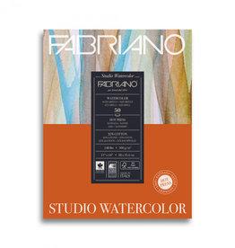 Fabriano Fabriano Studio Watercolor Pad 11 X 14 140# Hot Press 12 Sheets