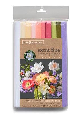 lia griffith Lia Griffith Crepe Paper 10 Pack Secret Garden