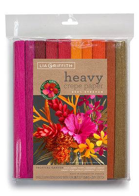 lia griffith Lia Griffith Crepe Paper 10 Pack Tropical Garden