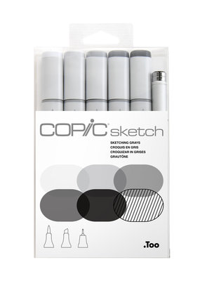 Copic Copic Sketching Greys Set