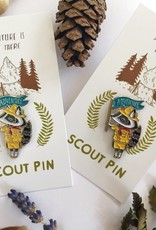 Marika Paz Enamel Pin Scout