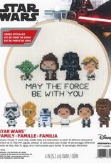 Dimensions Cross Stitch Kit Star Wars Family