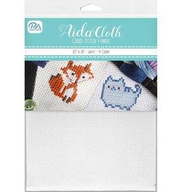 PA Essentials Aida Cloth 14ct 30 x 36 Inch White