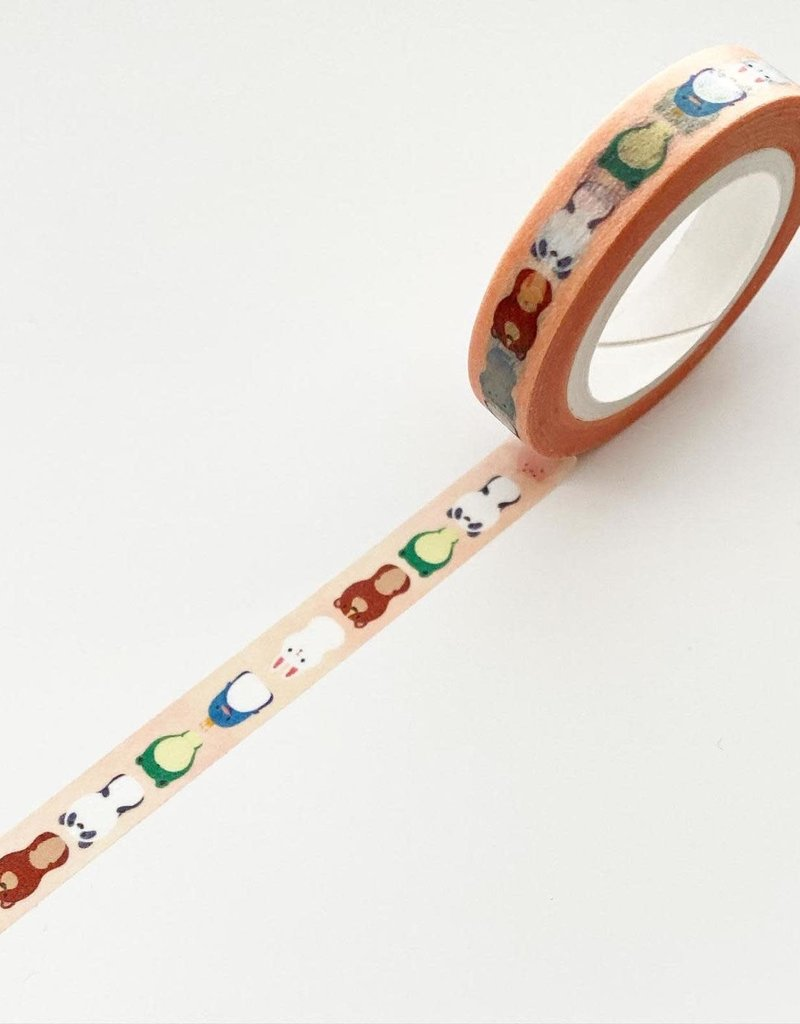 The Little Red House Washi Animal Friends
