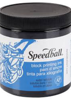 Speedball Block Print Ink Water Based Black 8 oz