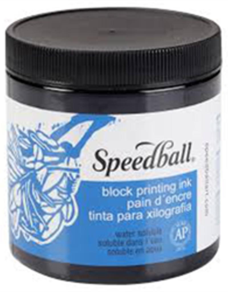 Speedball Block Print Ink Water Based Black 8 oz