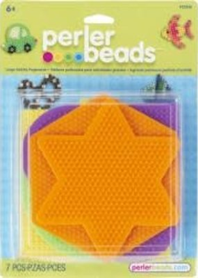 Perler Perler Fused Bead Pegboard Set Shapes Large