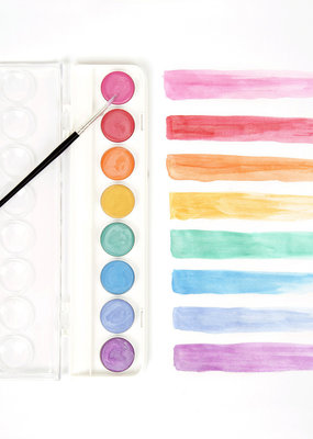 Micador Metallic Watercolor Palette Set