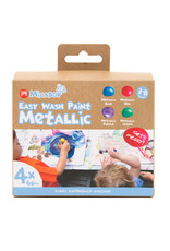 Micador Easy Wash Paint  4 Color Metallic Set
