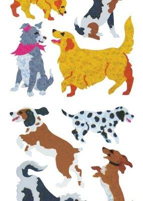 Jillson & Roberts Stickers Prismatic Dogs