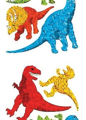 Jillson & Roberts Stickers Prismatic Dinosaur Assortment