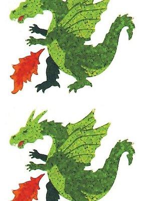 Jillson & Roberts Stickers Prismatic Dragon