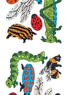 Jillson & Roberts Stickers Prismatic Insects
