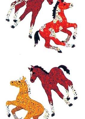 Jillson & Roberts Stickers Prismatic Colts