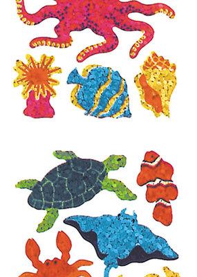 Jillson & Roberts Stickers Prismatic Marine Life