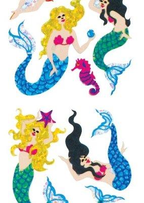 Jillson & Roberts Stickers Prismatic Mermaids