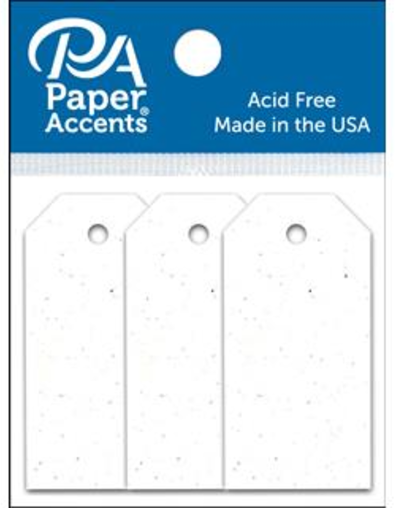 Paper Accents Craft Tags Birch .0875 x 1.75