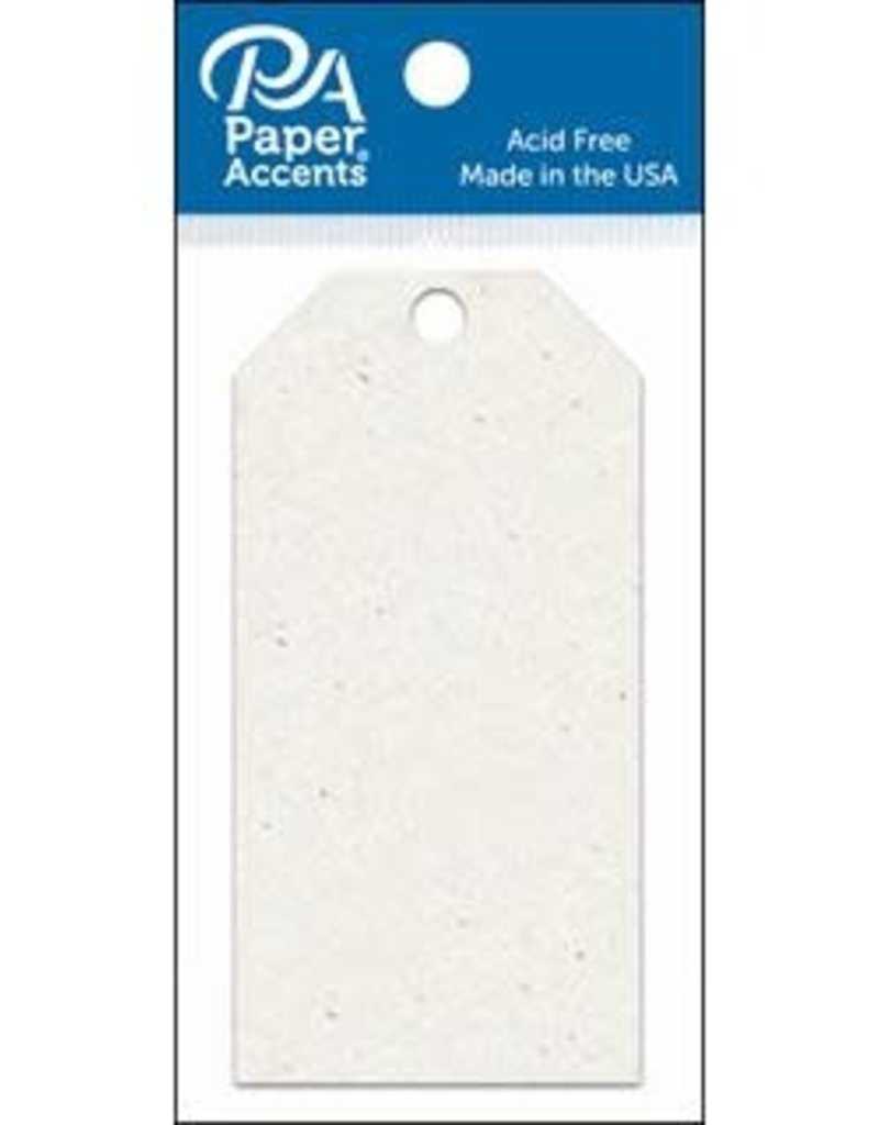 Paper Accents Craft Tags Birch 2.125 x 4.25