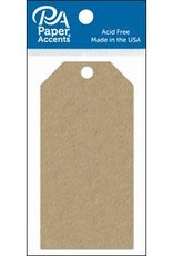 Paper Accents Craft Tags Brown Bag 2.125 x 4.25